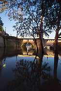 Paris . Flooding . The Seine river at the quay des Tournelles
