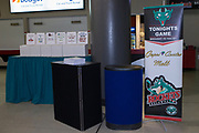KELOWNA, CANADA - FEBRUARY 20:  Promotions at the Kelowna Rockets game on February 20, 2018 at Prospera Place in Kelowna, British Columbia, Canada.  (Photo By Cindy Rogers/Nyasa Photography,  *** Local Caption ***