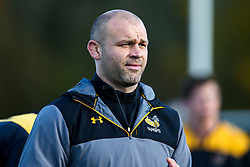 Wasps Transition Coach Matt Everard during training ahead of the European Challenge Cup fixture against SU Agen - Mandatory by-line: Robbie Stephenson/JMP - 18/11/2019 - RUGBY - Broadstreet Rugby Football Club - Coventry , Warwickshire - Wasps Training Session