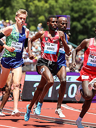 Mo Ahmed, Canada, 4th in mens 2-Mile at 2019 The Prefontaine Classic Track & Field<br /> IAAF Diamond League
