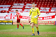 Walsall FC goalkeeper Liam Roberts (1) during the EFL Sky Bet League 1 match between Walsall and Barnsley at the Banks's Stadium, Walsall, England on 23 March 2019.