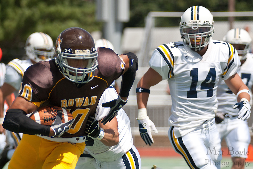 Rowan University vs. Lycoming. NCAA Division III Football - September 4th, 2010.