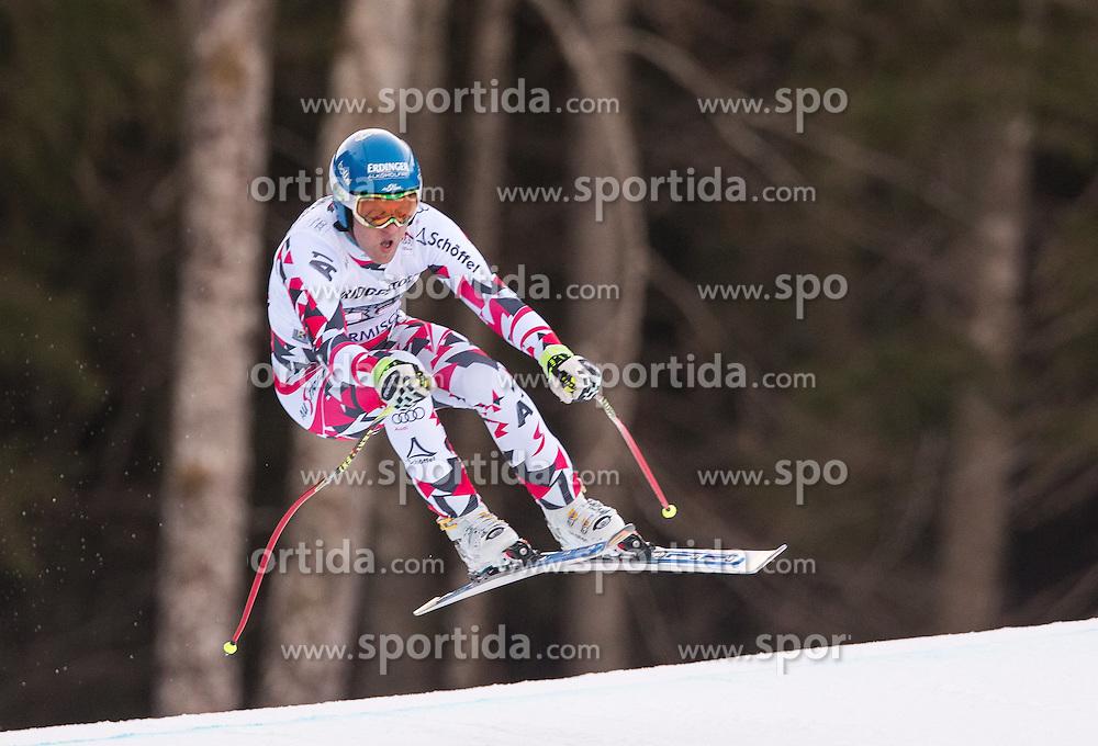 30.01.2016, Kandahar, Garmisch Partenkirchen, GER, FIS Weltcup Ski Alpin, Abfahrt, Herren, im Bild Romed Baumann (AUT) // Romed Baumann of Austria competes in his run for the men's Downhill of Garmisch FIS Ski Alpine World Cup at the Kandahar course in Garmisch Partenkirchen, Germany on 2016/01/30. EXPA Pictures © 2016, PhotoCredit: EXPA/ Johann Groder
