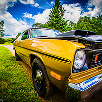 A 1973 Plymouth Duster.