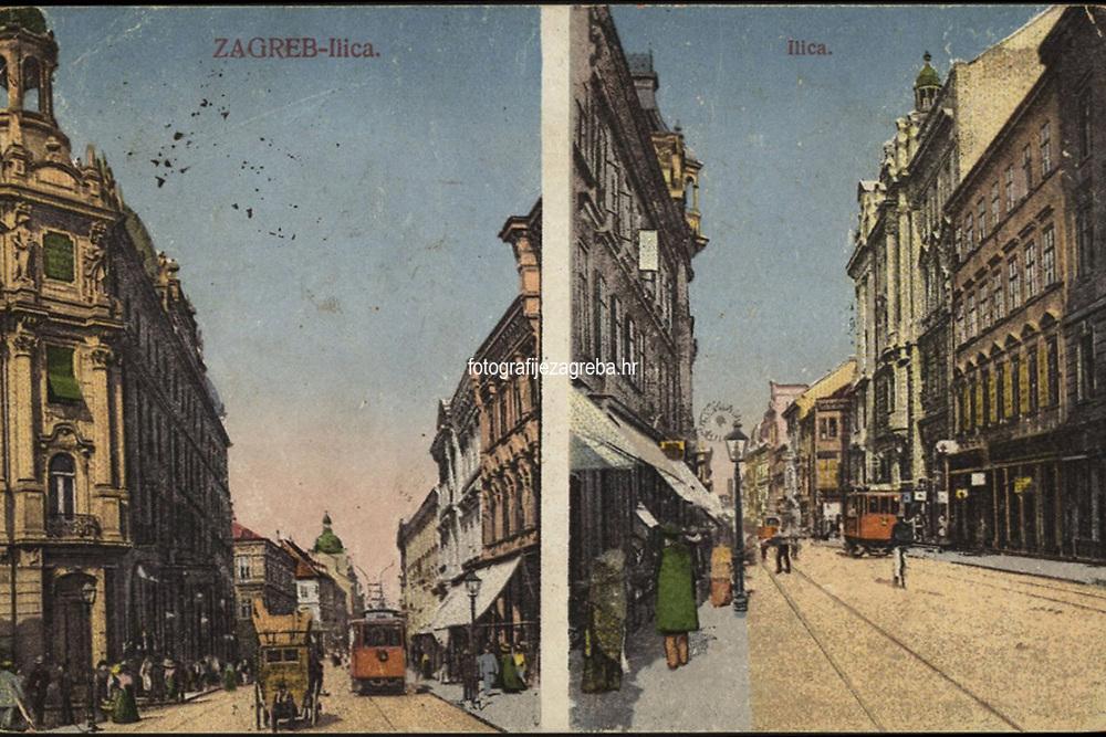 Zagreb : Ilica. <br /> <br /> Impresum[Zagreb] : S. M. Z., 1922.<br /> Materijalni opis1 razglednica : tisak ; 8,8 x 13,9 cm.<br /> Vrstavizualna građa • razglednice<br /> ZbirkaZbirka razglednica • Grafička zbirka NSK<br /> Formatimage/jpeg<br /> PredmetZagreb –– Ilica<br /> SignaturaRZG-ILIC-34<br /> Obuhvat(vremenski)20. stoljeće<br /> NapomenaS. M. Z. vjerojatno S. Marković Zagreb.<br /> PravaJavno dobro<br /> Identifikatori000945989<br /> NBN.HRNBN: urn:nbn:hr:238:698729 <br /> <br /> Izvor: Digitalne zbirke Nacionalne i sveučilišne knjižnice u Zagrebu
