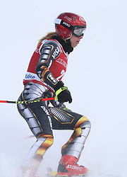 30.11.2017, Lake Louise, CAN, FIS Weltcup Ski Alpin, Lake Louise, Abfahrt, Damen, 3. Training, im Bild Ester Ledecka (CZE) // Ester Ledecka of Czech Republic in action during the 3rd practice run of ladie's Downhill of FIS Ski Alpine World Cup at the Lake Louise, Canada on 2017/11/30. EXPA Pictures © 2017, PhotoCredit: EXPA/ SM<br /> <br /> *****ATTENTION - OUT of GER*****