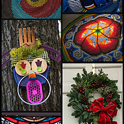 Art - Crafts - Folk Art - Holiday Decorations -  Stained Glass