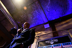 Sen. Cory Booker (D-NJ), Presidential hopeful for the US 2020 Elections talks about the gun violence crisis in America during a holds a Philadelphia Rise rally at the Fillmore, in Philadelphia, PA., on August 7, 2019.
