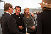MARC GLIMCHER; STEVE WYNN; ANDREA WYNN, VIP Opening of Frieze Masters. Regents Park, London. 9 October 2012