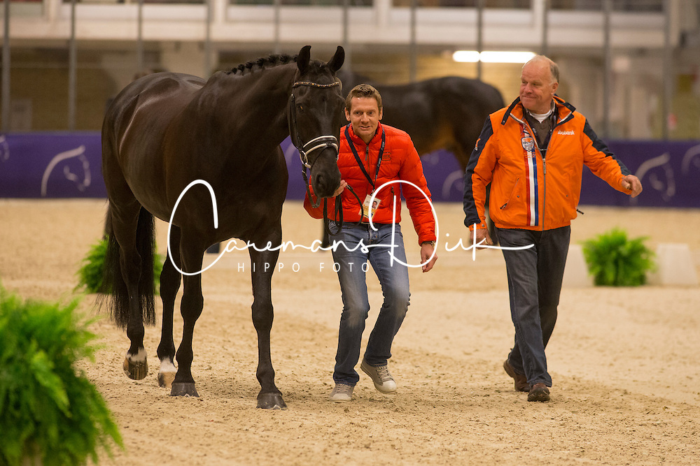Gal Edward (NED) - Glock's Undercover <br /> Reem Acra FEI World Cup Goteborg 2013<br /> © Dirk Caremans