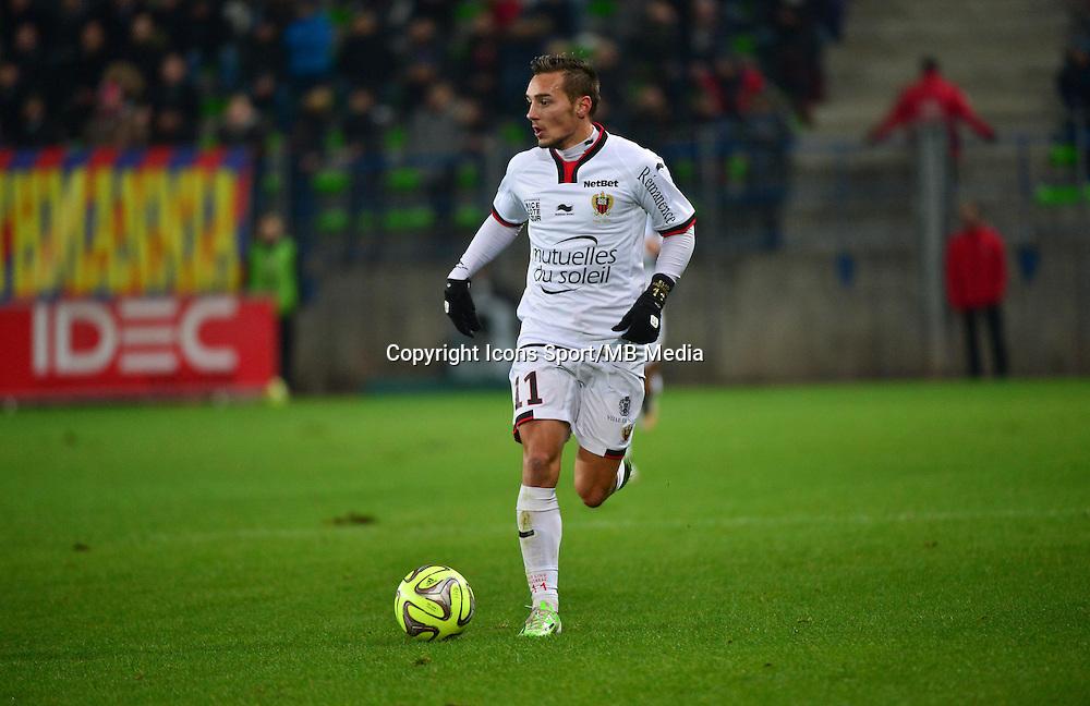 Eric BAUTHEAC - 06.12.2014 - Caen / Nice - 17eme journee de Ligue 1 -<br />Photo : Dave Winter / Icon Sport