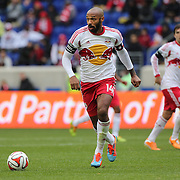 Thierry Henry, New York Red Bulls, in action during the New York Red Bulls V Chivas USA, Major League Soccer regular season match at Red Bull Arena, Harrison, New Jersey. USA. 30th March 2014. Photo Tim Clayton