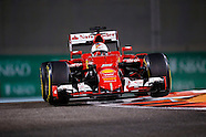 Formula 1 Abu Dhabi GP - Practice - 27/11/2015