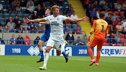 Mark O'Hara of Peterborough United celebrates scoring his second goal of the game - Mandatory by-line: Joe Dent/JMP - 11/08/2018 - FOOTBALL - Crown Oil Arena - Rochdale, England - Rochdale v Peterborough United - Sky Bet League One