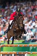 Gregory Wathelet - Conrad de Hus<br /> Alltech FEI World Equestrian Games™ 2014 - Normandy, France.<br /> © DigiShots