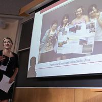 "Gabrielle Gutierrez, ""I'm the Teacher ... Now What?,"" LEAP Symposium, Mount Holyoke College, 10/18/2013"