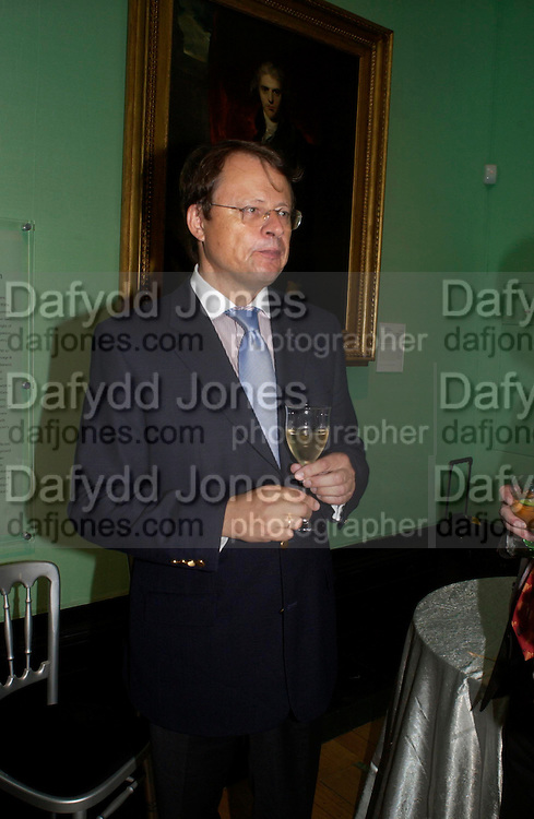 The German Ambassador. Celebration of Lord Weidenfeld's 60 Years in Publishing hosted by Orion. the Weldon Galleries. National Portrait Gallery. London. 29 June 2005. ONE TIME USE ONLY - DO NOT ARCHIVE  © Copyright Photograph by Dafydd Jones 66 Stockwell Park Rd. London SW9 0DA Tel 020 7733 0108 www.dafjones.com