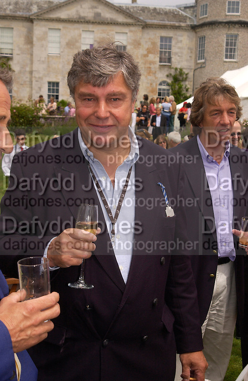 Johann Rupert, , Cartier Style Et Luxe, Goodwood, 27 June 2004. SUPPLIED FOR ONE-TIME USE ONLY-DO NOT ARCHIVE. © Copyright Photograph by Dafydd Jones 66 Stockwell Park Rd. London SW9 0DA Tel 020 7733 0108 www.dafjones.com