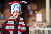"September 25, 2010 - Cevin Soling the reigning ""Pharaoh of Fluff"" during the 2010 Fluff Fest held in Somerville's Union Square. Mr. Soling is a professor of Philosophy and Literature at Harvard and won his title last year by writing a poem of his love for fluff. Photo by Lathan Goumas."