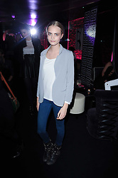 CARA DELEVINGNE at the Mulberry Event at Morton's Berkeley Square, London on 3rd November 2010.