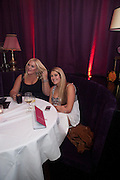 VANESSA FELTZ; SASKIA FELTZ; , Proud Cabaret launch. Mark Lane. London. EC3. 3 November 2009