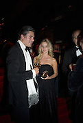EDWARD TAYLOR AND ANNABEL WALLACE, Cartier Dinner to celebrate the re-opening of the Cartier U.K. flagship store, New Bond St. Natural History Museum. 17 October 2007. -DO NOT ARCHIVE-© Copyright Photograph by Dafydd Jones. 248 Clapham Rd. London SW9 0PZ. Tel 0207 820 0771. www.dafjones.com.