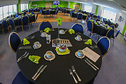 VIP dining during the EFL Sky Bet League 2 match between Forest Green Rovers and Macclesfield Town at the New Lawn, Forest Green, United Kingdom on 13 April 2019.