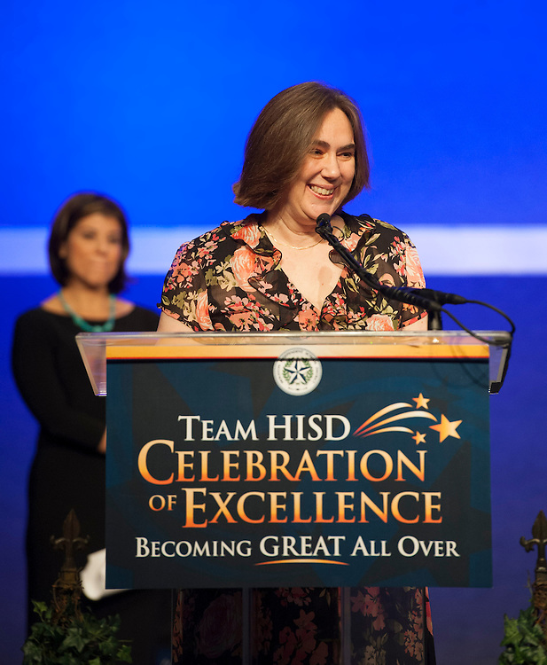 Team HISD Celebration of Excellence honoring Employees of the Month, Principals and Teachers of the Year at the George R Brown Convention Center, May 21, 2013.