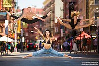 Dance As Art The New York City Photography Project -Little Italy Series with with the dancers of the Provincial Dance Theater