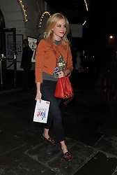 Pixie Lott leaves the Piccadilly Theatre after watching 'Viva Forever'. London, UK. 21/03/2013<br />
