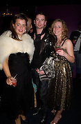 Clare Martin, Gareth Lindsay and Amanda Ellis. party given by Daphne Guinness for Christian Louboutin  after the opening of his new shopt.  Baglione Hotel. 16 March 2004.  ONE TIME USE ONLY - DO NOT ARCHIVE  © Copyright Photograph by Dafydd Jones 66 Stockwell Park Rd. London SW9 0DA Tel 020 7733 0108 www.dafjones.com