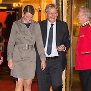 NLD/Amsterdam/20150926 - Afsluiting viering 200 jaar Koninkrijk der Nederlanden, vertrek burgemeester Eberhard van der Laan en partner Femke Graas