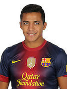 F.C. Barcelona 2012 / 2013. ALexis Sanchez...Photo: Gregorio / ALFAQUII
