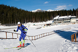 Jakov Fak at practice session during Media day of Slovenian biathlon team on November 12, 2010 at Rudno polje, Pokljuka, Slovenia. (Photo By Vid Ponikvar / Sportida.com)