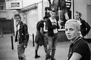 Wycombe Marsh Mob, High Wycombe, UK, 1980s.