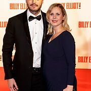 NLD/Scheveningen/20141130- Premiere Billy Elliot, Jim Bakkum en partner Bettina Holwerda