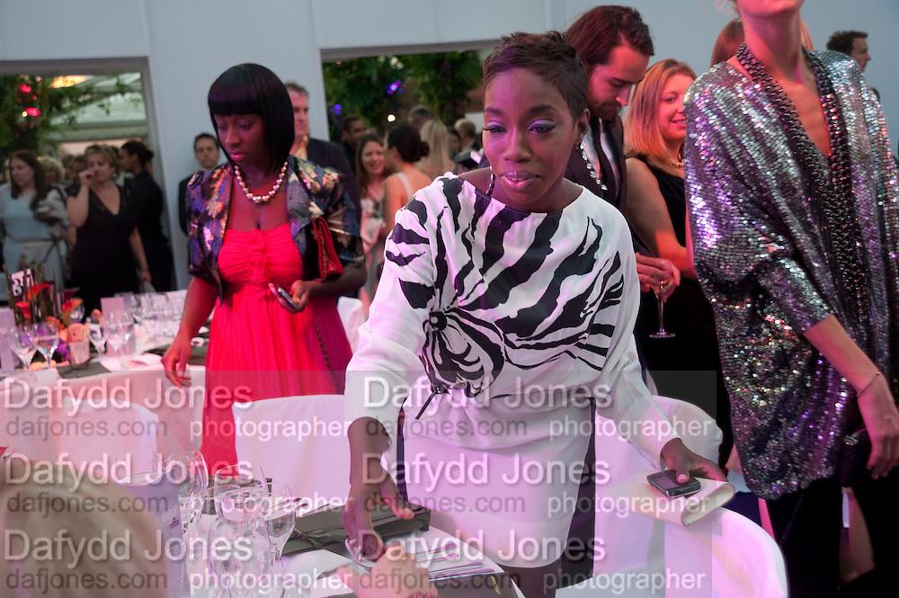Estelle, Glamour magazine Women of the Year Awards. Berkeley Square. London. 2 June 2009