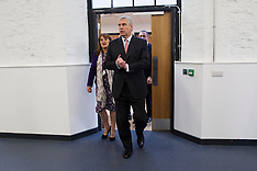 DEC 11 2014 Prince Andrew opens the new UTC building,Swindon 111214
