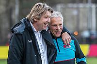 ARNHEM - 27-03-2017, Jong Vitesse - Jong AZ, Sport center Papendal, Henk Hut, Jong AZ trainer Martin Haar