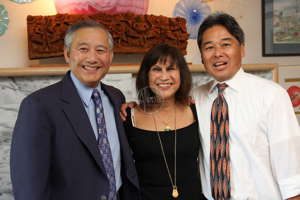Asian Pacific Islander Fundraiser for WA State (D) Senator, Chris Marr, at home of Joey and Vera Ing in Seattle's Beacon Hill neighborhood.