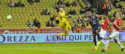 September 29, 2017 - Monaco, France - But de Montpellier - Souleymane Camara (Montpellier) - Danijel Subasic (AS Monaco) - Jemerson (AS Monaco) - Kamil Glik  (Credit Image: © Panoramic via ZUMA Press)