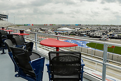 April 5, 2018 - Fort Worth, TX, U.S. - FORT WORTH, TX - APRIL 06: A view from the new Busch Restart Bar in the front stretch before Monster Energy NASCAR Cup Series practice on April 6, 2018 at the Texas Motor Speedway in Fort Worth, Texas. (Photo by Matthew Pearce/Icon Sportswire) (Credit Image: © Matthew Pearce/Icon SMI via ZUMA Press)