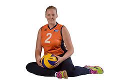22-09-2017 NED: Portret zitvolleybalsters Oranje 2017-2018, Leersum<br /> Nederland bereidt zich voor op het komende EK zitvolleybal / Anne Raben