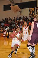 Lafayette High vs. Kosciusko in girls high school basketball action in MHSAA 4A North Half playoffs in Pontotoc, Miss. on Thursday, February 17, 2011. Lafayette won 75-50.
