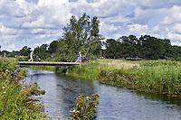 ZWOLLE - Brug naar hole Golfclub Zwolle. FOTO KOEN SUYK
