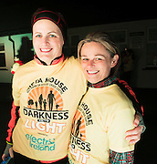 Deidre Hoban and Anne Heaney Kinvara  at the DIL Darkness into Light walk in Kinvara in aid of Pieta House  :<br />  Photo:Andrew Downes, XPOSURE