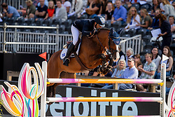 Zafiropoulos Kriton, GRE, Dicaprio<br /> European Championship Jumping<br /> Rotterdam 2019<br /> © Dirk Caremans<br /> Zafiropoulos Kriton, GRE, Dicaprio