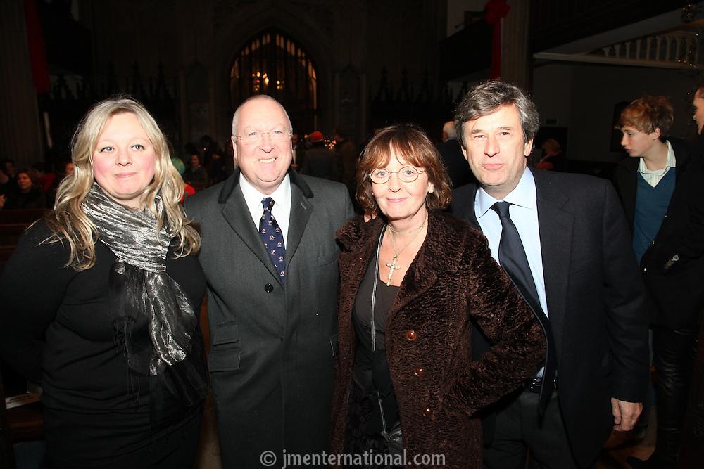 Jo Carter, Neil Warnock, Audrey Hoare and Andrew Wilkinson