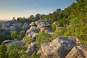 Garden of the Gods Recreation Area, Shawnee National Forest, Illinois.