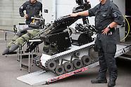 Presenatation EOD police unit, Berlin